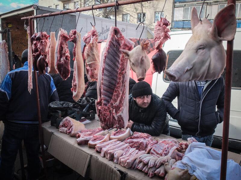 بازار گوشت واگزال
