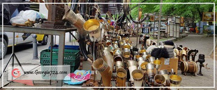 بازار پل خشک تفلیس