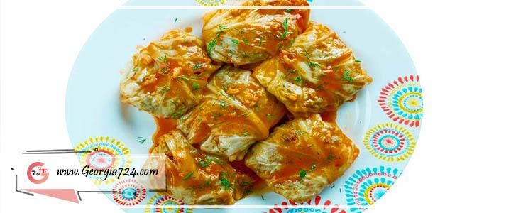 Tolma georgian food