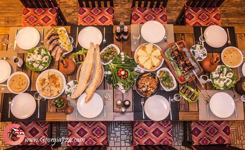میز غذای گرجستان